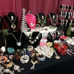 All kinds of great handmade jewelry for sale.